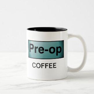 PRE-OP COFFEE MUG