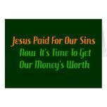 Pre-Paid Sin Card