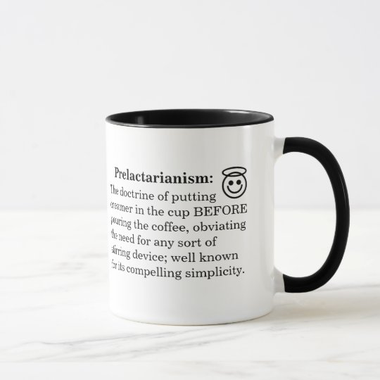 Pre/Postlactarianism Mug