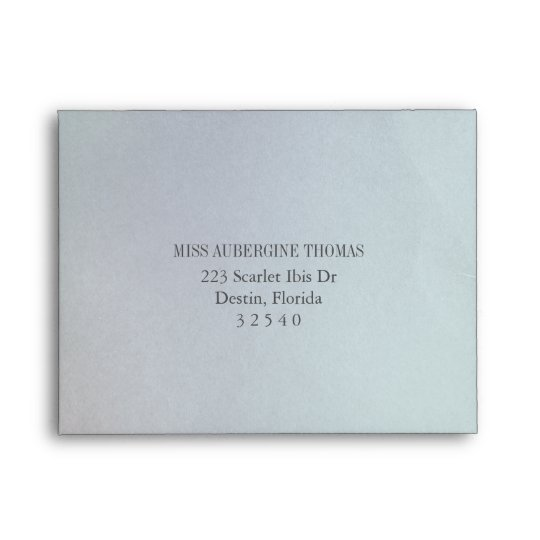 Pre Printed Opaline Wedding Invitation Reply Rsvp Envelope Zazzle Com