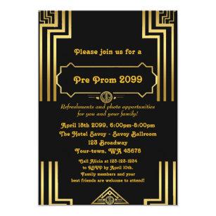Pre Prom Invitation QuinceaneraSixteen