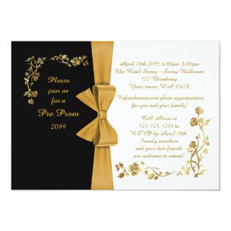 Pre prom invitations announcements zazzle pre prom invitation pre prom quinceanerasweet16 card stopboris Image collections