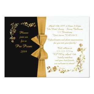 Pre Prom Invitation QuinceaneraSweet16
