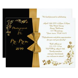 Pre Prom Invitations Announcements Zazzle