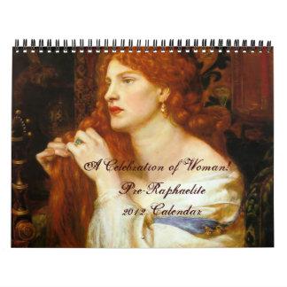 Pre-Raphaelite 2012 Calendar