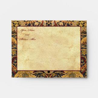 "Pre-Raphaelite (5 ¾"" W x 4 3/8"" H) sobres"