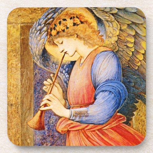 Pre-Raphaelite Angel Coasters