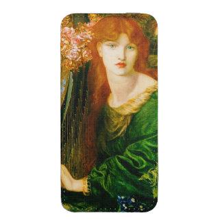 Pre-Raphaelite de Ghirlandata Rossetti del La Bolsillo Para iPhone