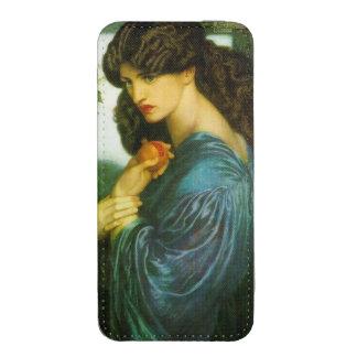 Pre-Raphaelite de Proserpine Rossetti Bolsillo Para iPhone