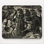 Pre-raphaelite del ejemplo de Dante Gabriel Rosset Alfombrilla De Ratones