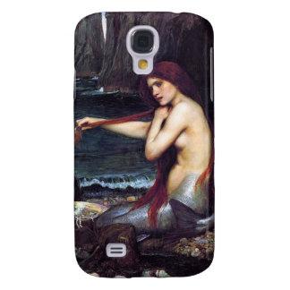 Pre-Raphaelite del vintage de la sirena