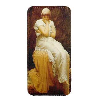 Pre-Raphaelite Frederick Leighton de la soledad Bolsillo Para iPhone