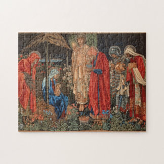 Pre-Raphaelite Nativity Scene Puzzle