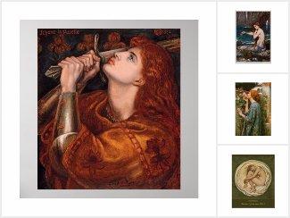 Pre-Raphaelite posters