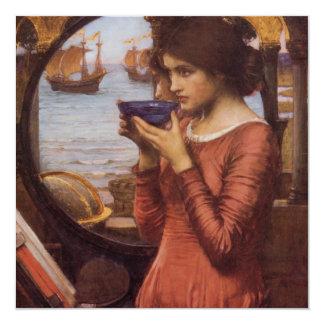 Pre-Raphaelite Waterhouse Painting Destiny Card