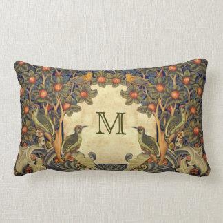 Pre Raphaelite Wm. MONOGRAMA del PERSONALIZABLE de Cojines