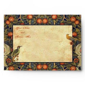 Pre-Raphaelite Woodpecker 5X7 Envelope envelope