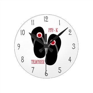 Pre reloj de los flips-flopes del profesor de K