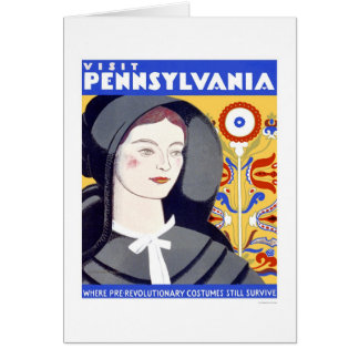 Pre Revolutionary Costume 1938 WPA Card