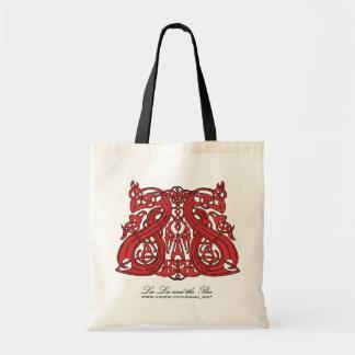 Pre rojo de Viking, bolso de compras Bolsa De Mano