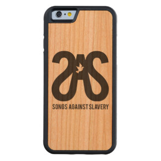 Pre-Sale iPhone 6 wooden case! Carved Cherry iPhone 6 Bumper Case