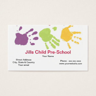 Pre School Business Card