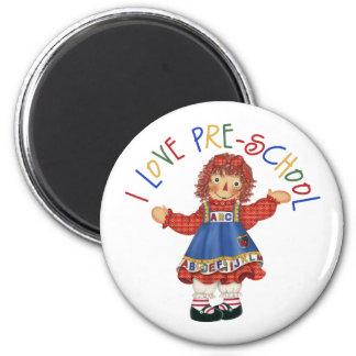 Pre-School Gift 2 Inch Round Magnet