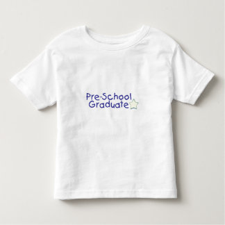 Pre-School Graduate (blue) Toddler T-shirt