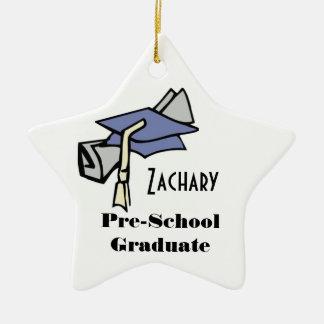 Pre-School Graduate (Customizable) Christmas Tree Ornament