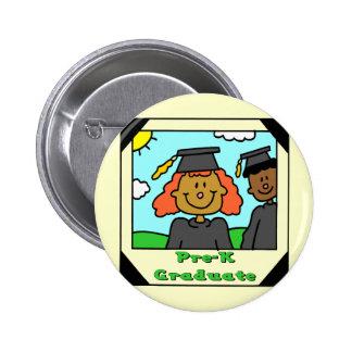 Pre-School Graduation Gifts 2 Inch Round Button