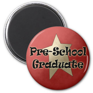 Pre-School Graduation Gifts 2 Inch Round Magnet