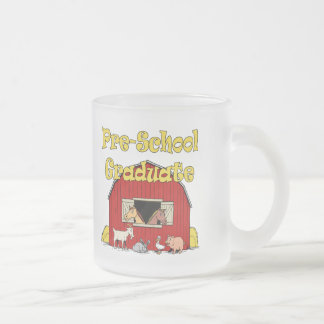 Pre-School Graduation Gifts 10 Oz Frosted Glass Coffee Mug