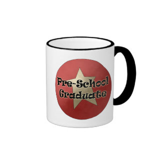 Pre-School Graduation Gifts Ringer Coffee Mug