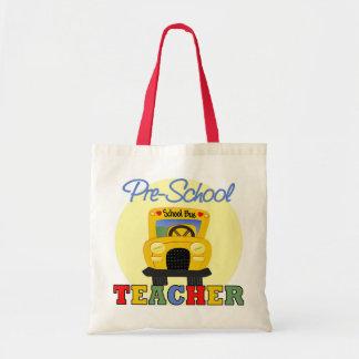 Pre-School Teacher Gift Tote Bags