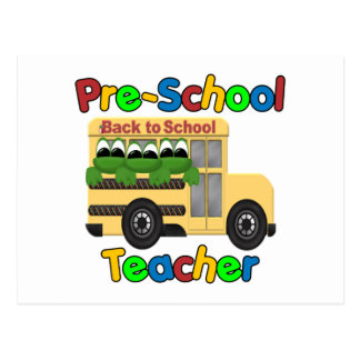 Pre-School Teacher Postcards