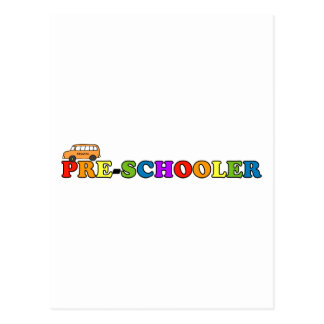 Pre-Schooler Postcard