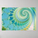 Pre vida - poster del fractal