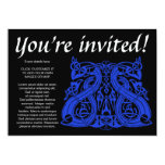 Pre Viking Blue, invitation