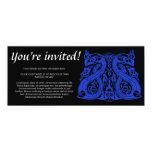 Pre Viking blue, skinny invitation