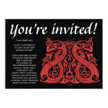 Pre Viking Red, invitation