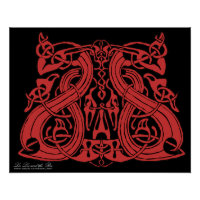 Pre Viking Red, print print