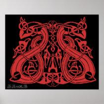 Pre Viking Red, print