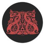 Pre Viking Red, sticker