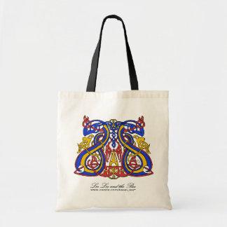Pre Viking tri colour, shopping bag