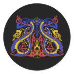 Pre Viking tri colour, sticker
