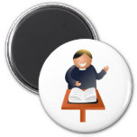 Preacher 2 Inch Round Magnet