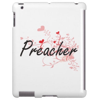 Preacher Artistic Job Design with Hearts