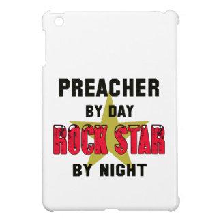 Preacher by Day rockstar by night iPad Mini Cases