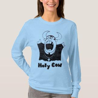 Preacher Cow Tee Shirt | Holy Cow Shirt For Women