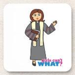 Preacher Girl Coaster